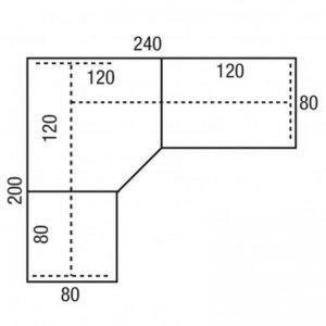 CAD bureau compleet 240x200 PINTA