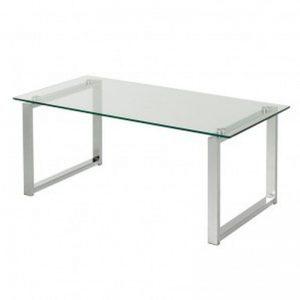 Glazen tafel groot