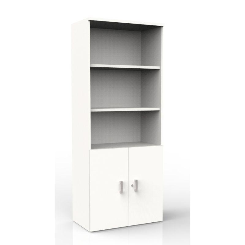 Open Hoekkast Wit.Halfopen Kast 197cm Hoog Wit Vanaf 399 Ltj Kantoormeubelen