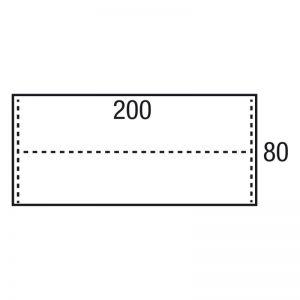 LOS BLAD 200x80