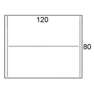 Los blad 120x80cm