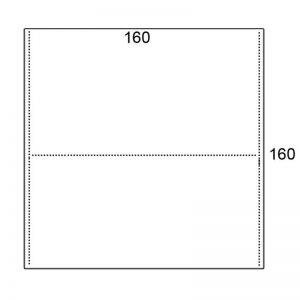 Los blad 160x160cm