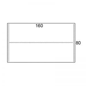 Los blad 160x80cm