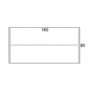 Los blad 180x80cm