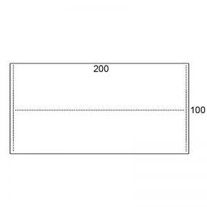 Los blad 200x100cm