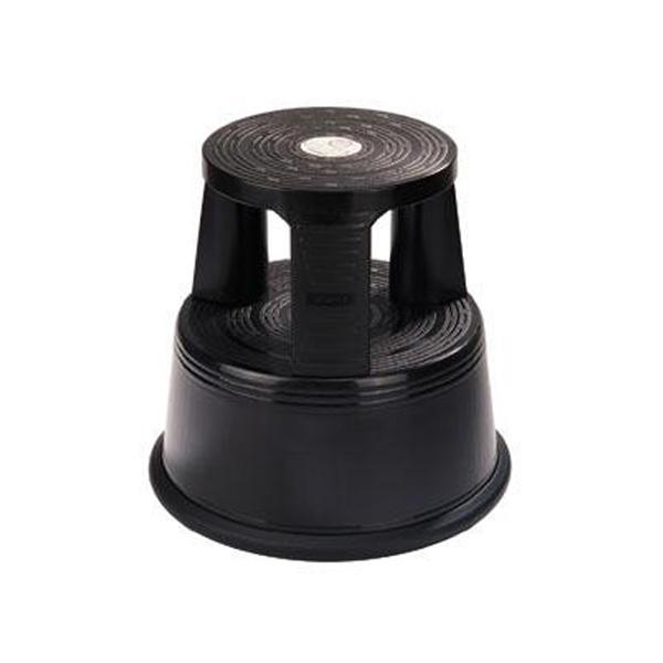 Roll-a-Step-kruk-zwart