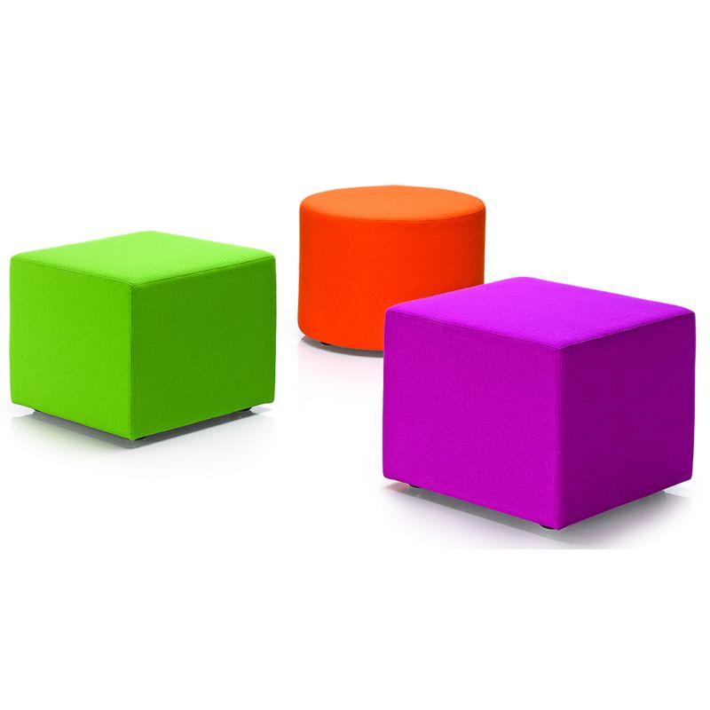 Ronde Poef In Diverse Kleuren