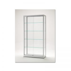 vitrinekast_200x100x40cm_blank_geanodiseerd