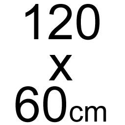 120 x 60 cm